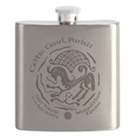 Celtic Epona Coin Flask
