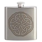 Celtic Knotwork Coin Flask