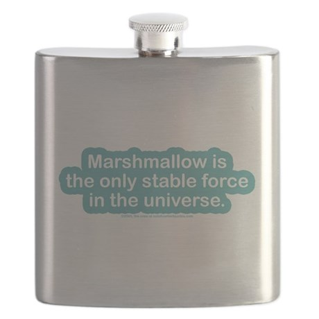 Marshamallow Stable Force Flask
