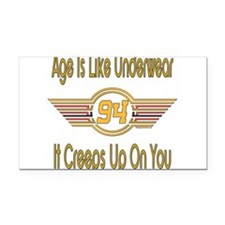 BirthdayUnderwear94.png Rectangle Car Magnet