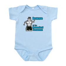 Abdominal Snowman Infant Bodysuit
