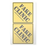 FAKE CLINIC Vinyl 3x5 Twofer (10 pk)