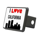 I Love California.png Rectangular Hitch Cover
