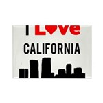 I Love California.png Rectangle Magnet (10 pack)