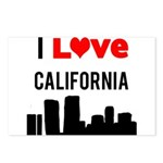 I Love California.png Postcards (Package of 8)
