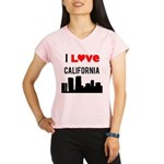 I Love California.png Performance Dry T-Shirt