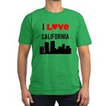 I Love California.png Men's Fitted T-Shirt (dark)