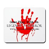 Legends of Horror Bloody Hand Mousepad