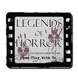 Legends of Horror Logo Mousepad