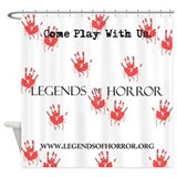 Legends of Horror Bloody Shower Curtain