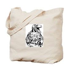 Raptor Jesus Tote Bag