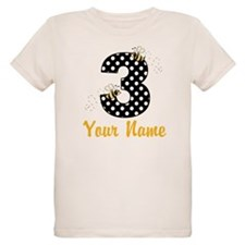 3rd Birthday Bumble Bee T-Shirt