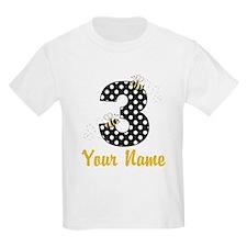 3rd Birthday Bumble Bee T-Shirt
