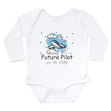 Cool Airplane Long Sleeve Infant Bodysuit