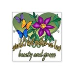 Butterflymotherinlaw.png Square Sticker 3