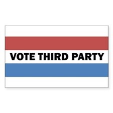 Vote Third Party Decal