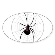 Spider in a web Decal