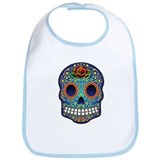Sugar Skull Bib