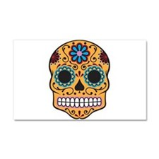 Sugar Skull Car Magnet 20 x 12