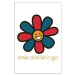 Smile and Let It Go Large Poster