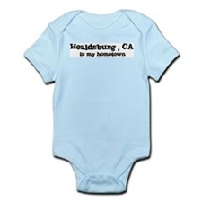 Healdsburg - hometown Infant Creeper