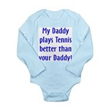 Unique Volleyball baby Long Sleeve Infant Bodysuit