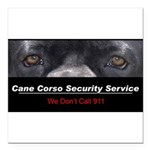 security.png Square Car Magnet 3