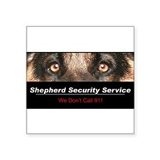"security.png Square Sticker 3"" x 3"""