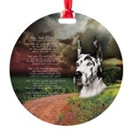 godmadedogs3.png Round Ornament
