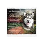 godmadedogs.png Square Sticker 3