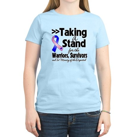 Stand Male Breast Cancer Women's Light T-Shirt