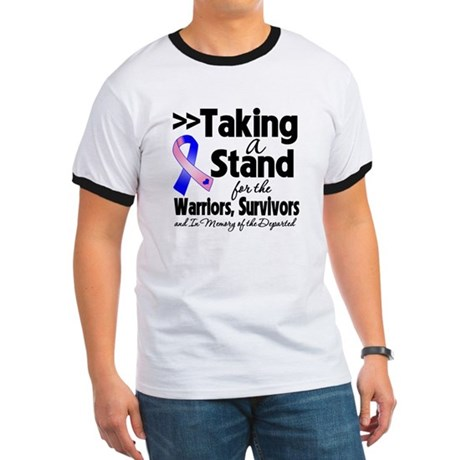 Stand Male Breast Cancer Ringer T