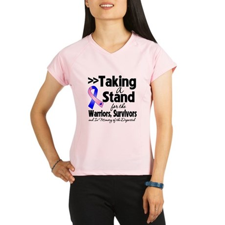 Stand Male Breast Cancer Performance Dry T-Shirt