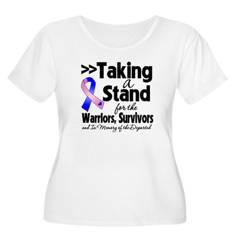 Stand Male Breast Cancer Women's Plus Size Scoop N