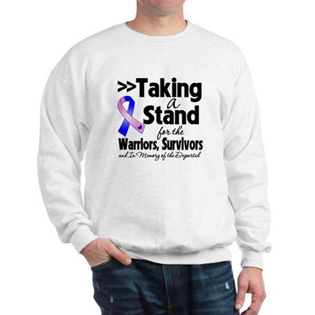 Stand Male Breast Cancer Sweatshirt