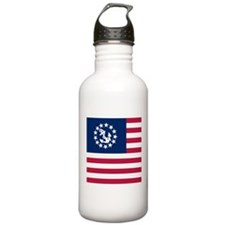 USA Yacht Flag Water Bottle
