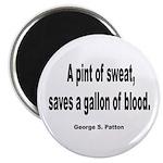 Patton Sweat & Blood Quote 2.25