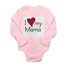 Cute Mama Long Sleeve Infant Bodysuit