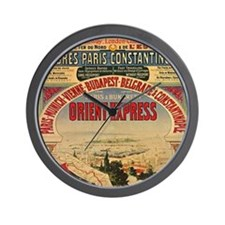 Orient Express Wall Clock