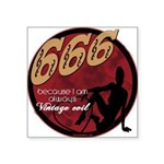 Innervintageevil666 copy.png Square Sticker 3