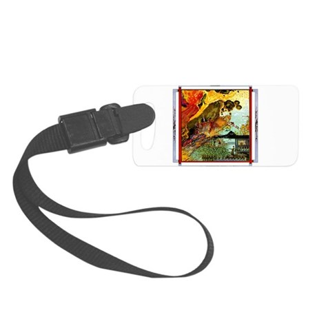 FRACTUREDdepthsofhell copy.png Small Luggage Tag