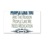 Medication copy.png Rectangle Car Magnet