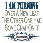 New Leaf copy.png Square Car Magnet 3