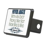 ArgueWithIdiot copy.png Rectangular Hitch Cover