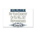 Repossessed copy.png Rectangle Car Magnet