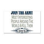 JOINTHE ARMY copy.png Rectangle Car Magnet