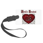 GreatestFracturedLiar.png Large Luggage Tag