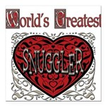 GreatestFracturedSnuggler.png Square Car Magnet 3