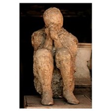 Body cast, Pompeii