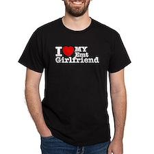 I Love My EMT Girlfriend T-Shirt